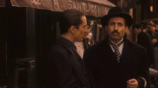 Крестный отец 2. Вито Корлеоне и домовладелец синьор Роберто. Деньги - это не все в жизни.