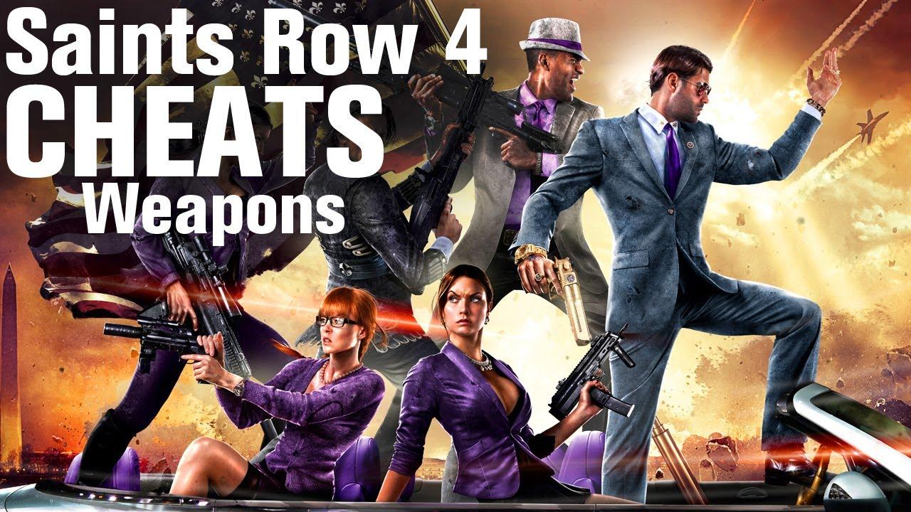 Saints Row 4 Cheats: Weapons - YouTube