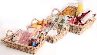3 DIY FRESH Food Gift Baskets - Edible Gifts