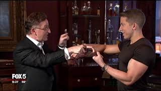 Steve Cohen on Good Day New York - 5000th Chamber Magic show