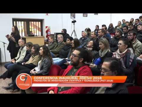Conferencia Inaugural JIDETeV 2018
