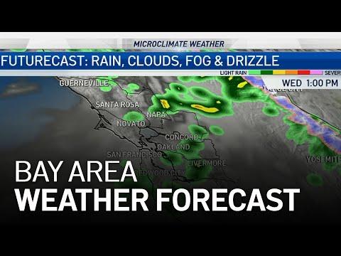 Bay Area Forecast: Rain Chance & Fog Ahead