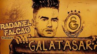 Radamel Falcao Sand Art ● Welcome to Galatasaray 2019