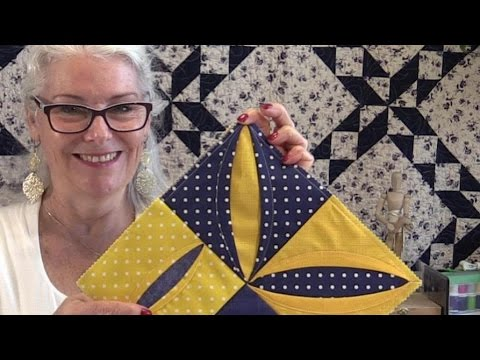 How to Make a Folded Quilt Block