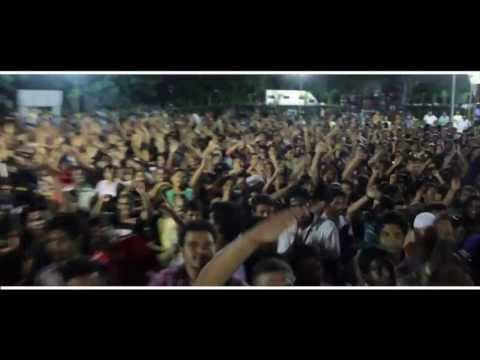 Hiphop Tamizhan Live at MCC - Adhi & Anirudh