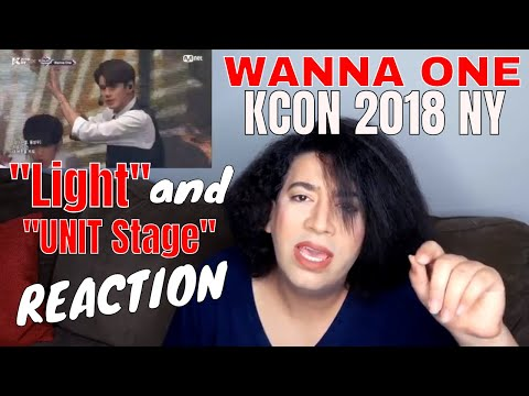 WANNA ONE - Light and UNIT Stage (KCON...