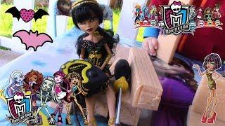 Строим Кроватку для КЛЕО куклы МОНСТЕР ХАЙ с безопасного материала для детей, Monster high bed