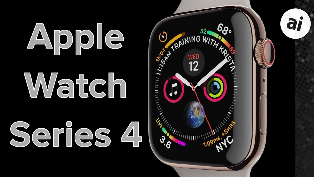 8ac204356d8 Everything to Know About the Apple Watch Series 4! - YouTube