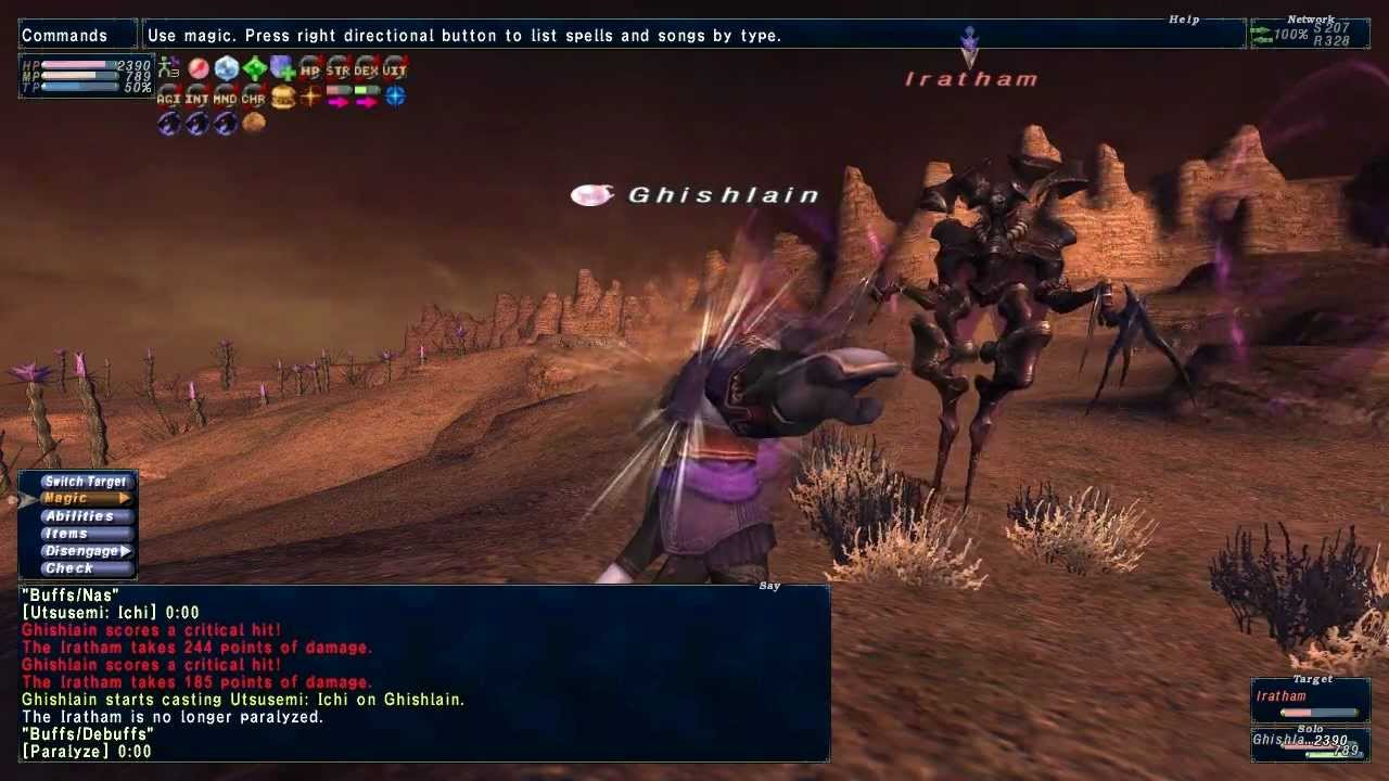 Ffxi Iratham Abyssea Tahrongi Caturae Nm Whm Solo Youtube