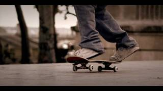 Skateboarding shot with RED camera Paris le Dome