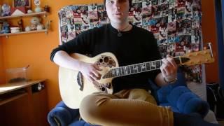 Игорь Корнелюк - Город, Которого Нет | Видео-урок/разбор на гитаре | Как играть