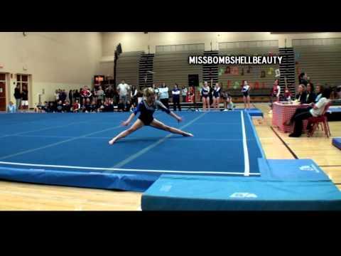 College Gymnastics Floor Routines Compilation Doovi
