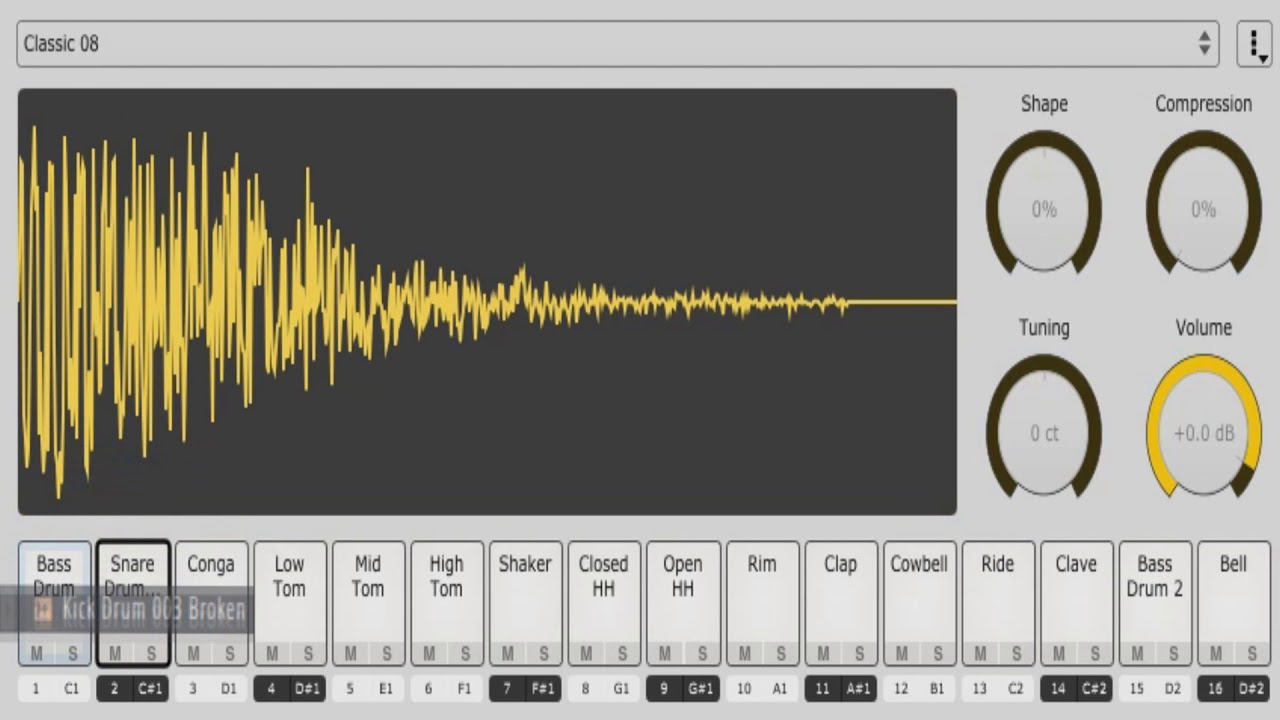 Download Free Drum sampler plug-in: Sitala by Decomposer
