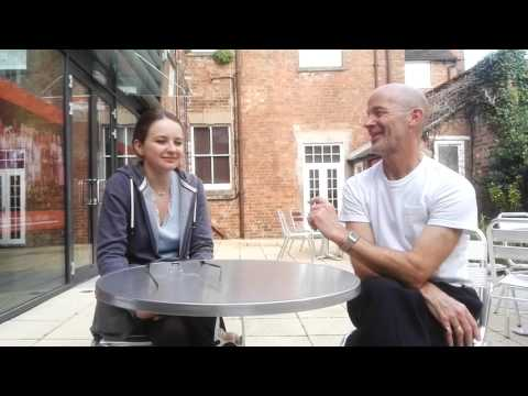 Laura van der Heijden and David Curtis in conversation