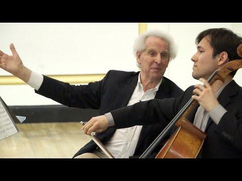 Benjamin Zander Masterclass 3.6 (Part 1) Gabriel Fauré, Elegy