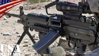 M249 (Minimi) Light Machine Gun - STANAG Magazine (30-round) Live Fire