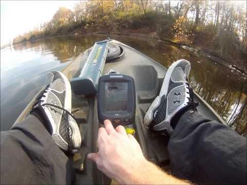 Humminbird Piranhamax 170 Fish Finder Review - in water