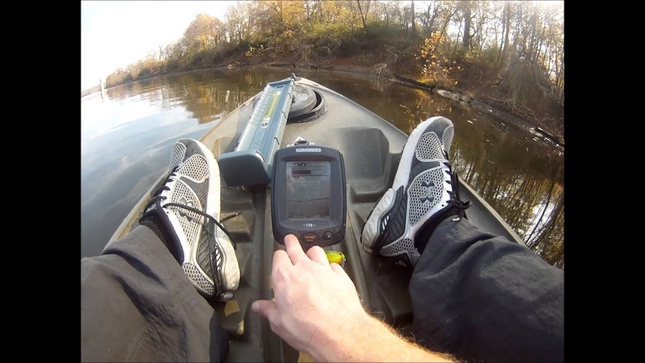 humminbird piranhamax 170 fish finder review - in water - youtube, Fish Finder