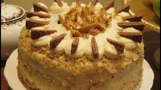 Fresh Apple Spice Cake With Cream Cheese Buttercream