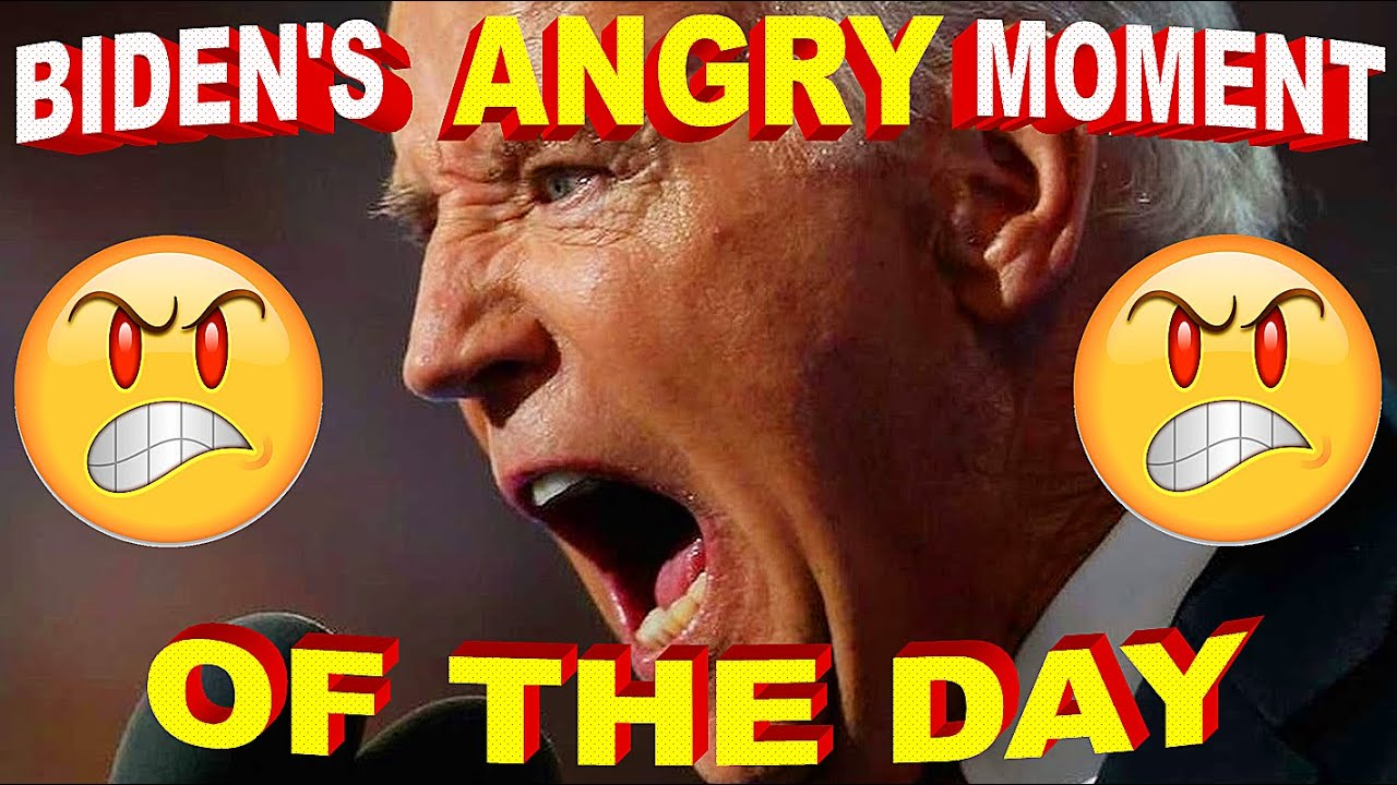 """Joe Biden's """"ANGRY"""" Moment of the Day !! September 16th, 2021 - Meltdown Gaffe at Newsom Rally"""