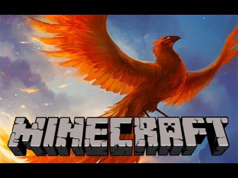 Hatch a Phoenix in Minecraft - Minecraft Vanilla Mod in Only One Command (1.9+)