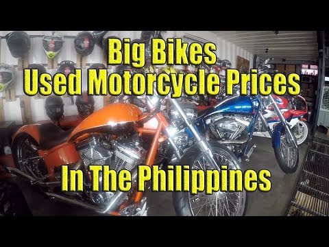 Big Bikes. Used Motorcycle Prices In The Philippines.