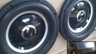 SPLX Subwoofer Flex Demo w/ 2 SoundStream D-Tower Car Audio Amps & 4 12