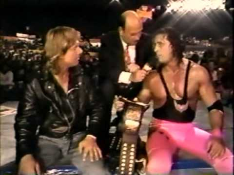 Roddy Piper and Bret Hart Interview (03-15-1992)
