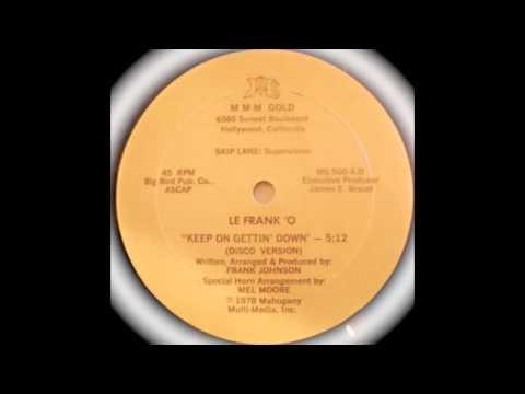 Le Frank 'O - Keep On Gettin' Down (12