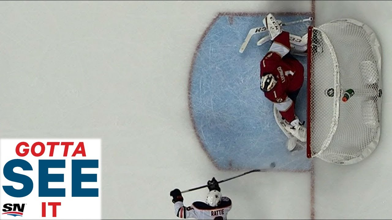 GOTTA SEE IT: Rattie Celebrates Too Early As Luongo Makes Huge  Glove Save