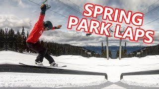 Spring Park Snowboarding with YouTubers