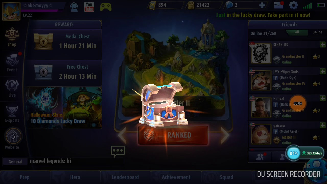 how to redeem mobile legend code