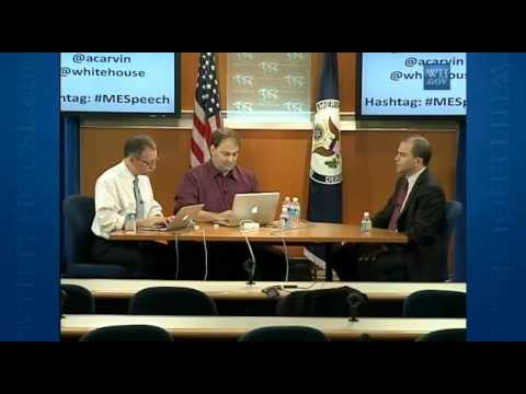 Twitter Interviews White House Ben Rhodes Deputy National Security Adviser Part 4