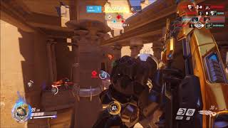 Overwatch Competitive - 100% Cap Glitch on Temple of Anubis