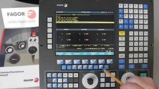 ЧПУ Fagor, Урок 3 - Основные экраны и функции