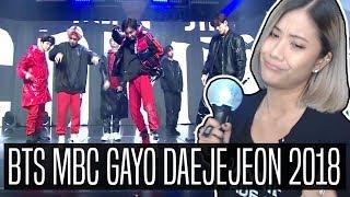 BTS 방탄소년단 MBC GAYO DEJEJEON (가요대제전) 2018 REACTION | MIC Drop & IDOL