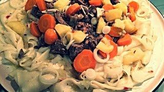 САМАЯ ВКУСНАЯ ЕДА : 'Бешбармак'- Казахская Национальная Кухня #28