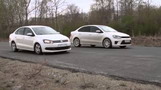 Polo Sedan с тормозами от Octavia tour (288 мм + ЗДТ) vs stock
