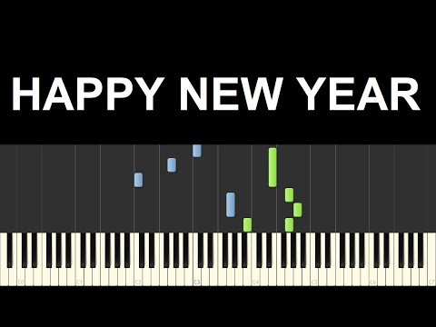 ♪ Easy Piano Tutorial: Happy New Year