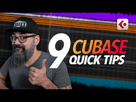 9 Quick CUBASE TIPS and TRICKS that you need to know (2020)