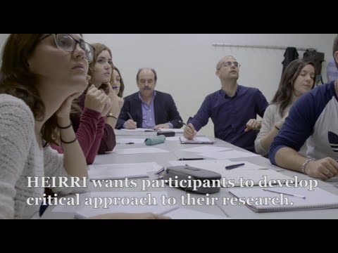 HEIRRI Project: Higher Education Institutions & Responsible Research and Innovation