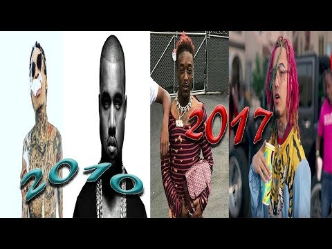 The Evolution of Hip Hop/ Rap (2010-2017)