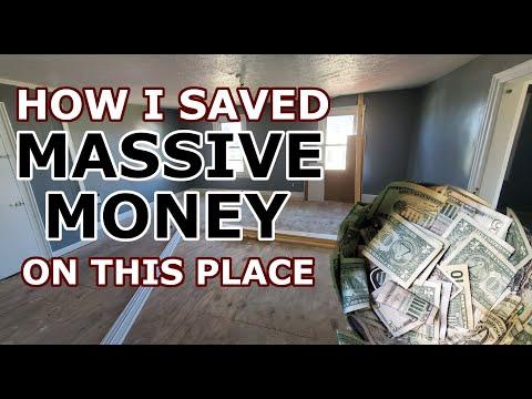 How I Saved MASSIVE Money On This Renovation