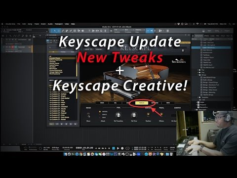 Keyscape Update New Tweaks Better CPU And Creative