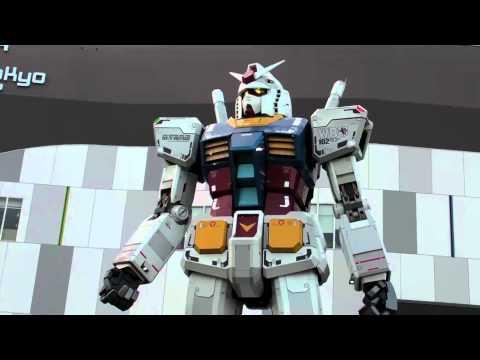 Moving Gundam Robot (Diver City, Tokyo)