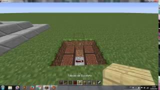 Como construir uma campainha simples! - Minecraft PC