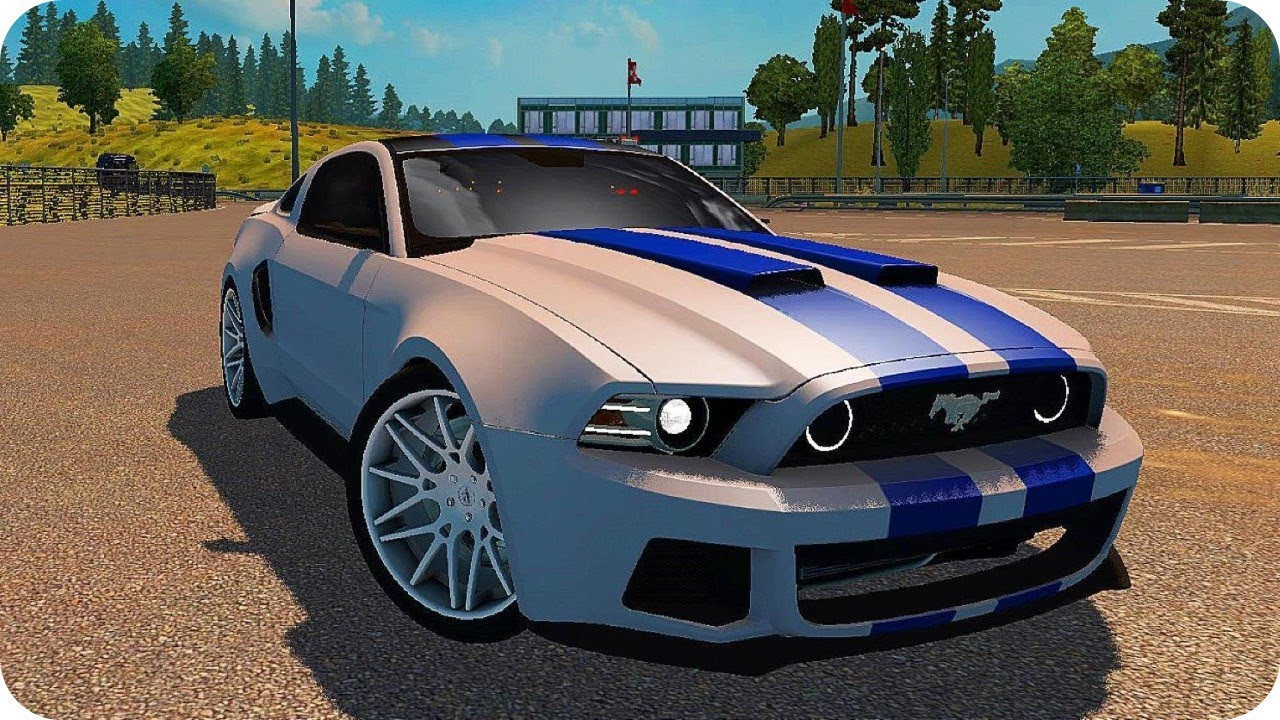 Ford mustang need for speed mod ets21 30 euro truck simulator 2