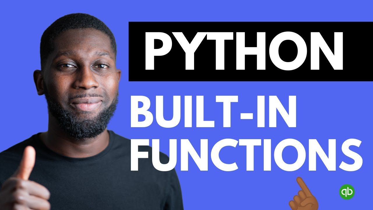 Python Tutorial for Beginners - Python Built in Functions