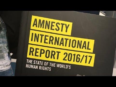Amnesty International blasts 2016 human rights violations