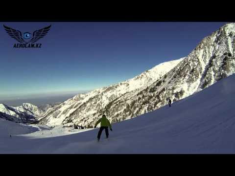 Чимбулак и Ак-Булак (Shymbulak & Ak-Bulak ski resort of Kazakhstan)